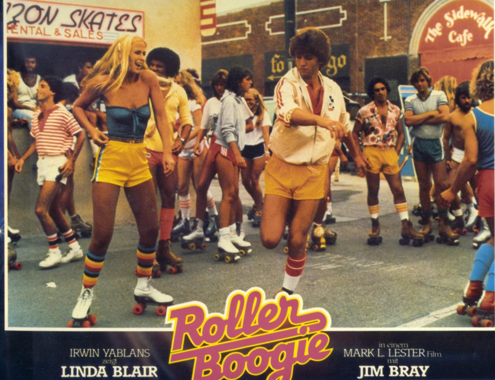 roller boogie lobby cards