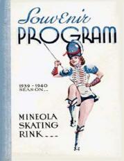 1939-1940 Mineola Skating Rink Souvenir Program