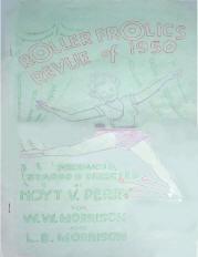 1950 Roller Frolics Revue Program (Springfield Missouri)