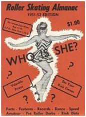 1951-1952 Roller Skating Almanac Cover