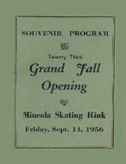1956 Grand Fall Opening Program (Mineola NY)
