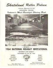 1964 Skateland Roller Palace Holiday Invitational Program (Alexandria IND)