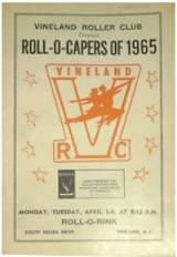 1965 Vineland Roller Club Roll-O-Capers Program (NJ)