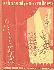 1967 Rhapsoy on Rollers Program (Portland OR)