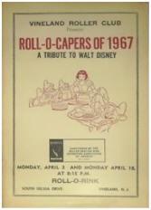 1967 Vineland Roller Club Roll-O-Capers Program (NJ)