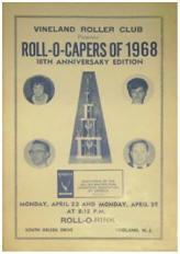 1968 Vineland Roller Club Roll-O-Capers Program (NJ)