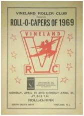 1969 Vineland Roller Club Roll-O-Capers Program (NJ)