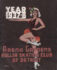 1937-38 Arena Gardens Roller Skating Club of Detroit