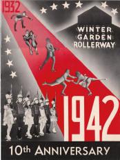 1942 Winter Garden Rollerway 10th Anniversary Program (Massachusets)