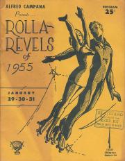 1955 Rolla Revels Program Cover (Ohio)