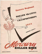 1952 Eastern Regional Roller Skating Championship Program