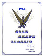 1966 Gold Skate Classic Program Cover