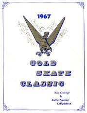 1967 Gold Skate Classic Program Cover