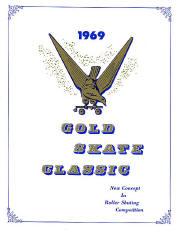 1969 Gold Skate Classic Program Cover