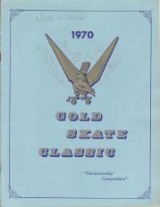 1970 Gold Skate Classic Program Cover