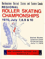 1970 Northeastern Roller Skating Championship Program (Rhode Island)