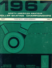1967 National Roller Skating Championship Program