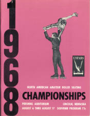 1968 National Roller Skating Championship Program