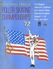 1972 National Roller Skating Championship Program