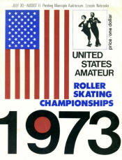1973 National Roller Skating Championship Program