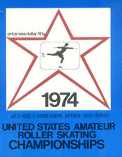1974 National Roller Skating Championship Program