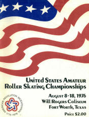 1976 National Roller Skating Championship Program