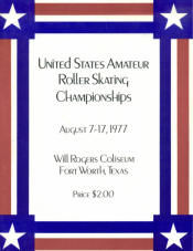 1977 National Roller Skating Championship Program