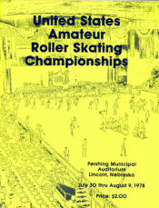 1978 National Roller Skating Championship Program