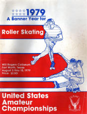 1979 National Roller Skating Championship Program
