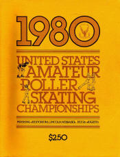 1980 National Roller Skating Championship Program