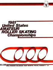 1981 National Roller Skating Championship Program
