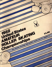 1982 National Roller Skating Championship Program
