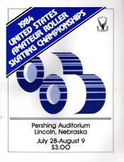 1984 National Roller Skating Championship Program