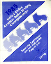 1985 National Roller Skating Championship Program