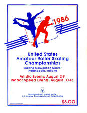 1986 National Roller Skating Championship Program