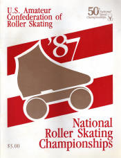 1987 National Roller Skating Championship Program