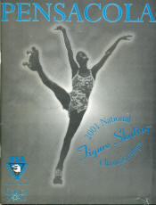 2001 National Roller Skating Championship Program