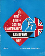 1967 World Roller Skating Championship Program