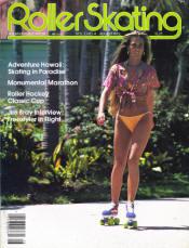 Roller Skating Magazine - August 1979