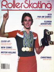 Roller Skating Magazine - December 1979