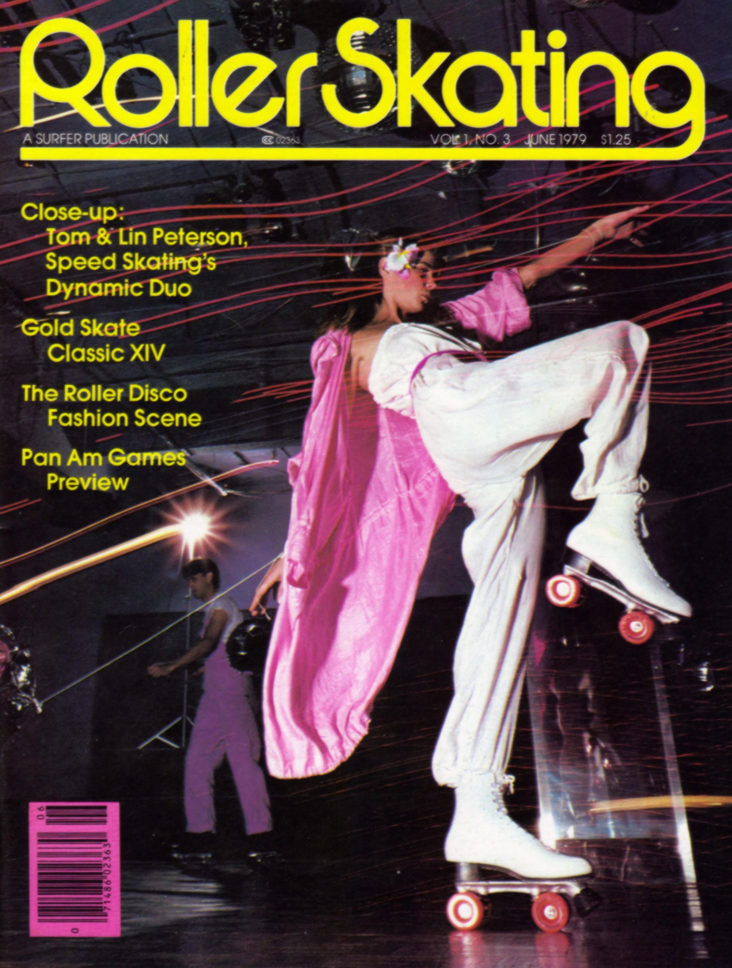 Roller skates dance - Roller Skating Magazine June 1979