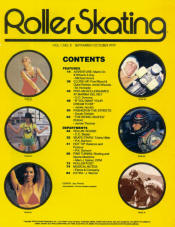 Roller Skating Magazine - October 1979 (Cover Missing)