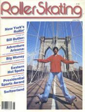 Roller Skating Magazine - June 1980