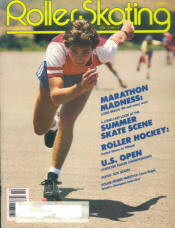 Roller Skating Magazine - October 1980