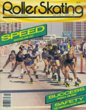 Roller Skating Magazine - August 1981