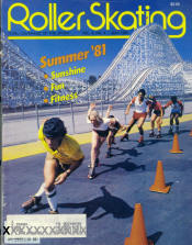 Roller Skating Magazine - July 1981