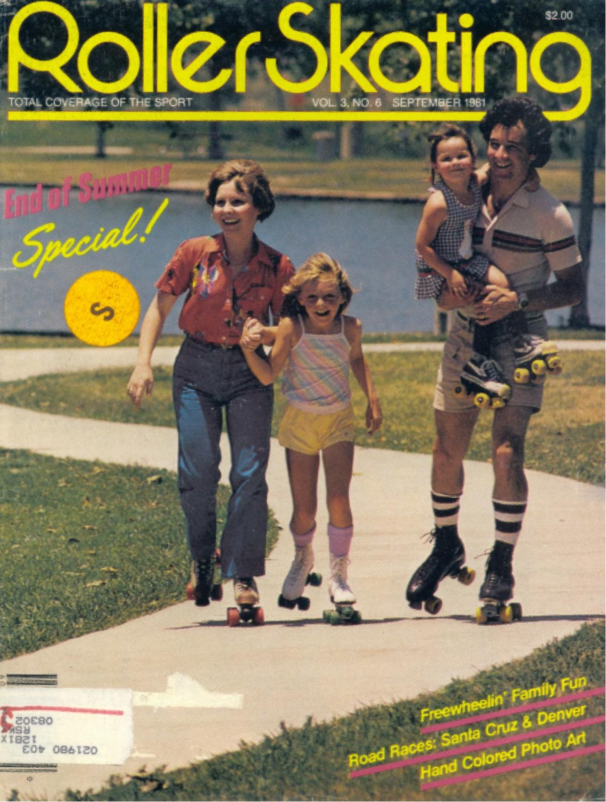 Roller skating denver - Roller Skating Magazine September 1981