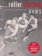 Roller Skating News - November 1958