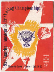 1950 National Roller Skating Championship Program
