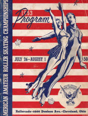 1953 National Roller Skating Championship Program